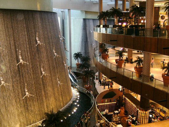 The Dubai Mall: A view inside the Mall