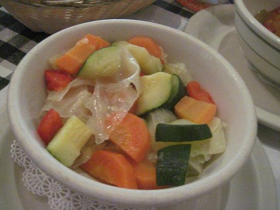 Gladys' Cafe: My vegies