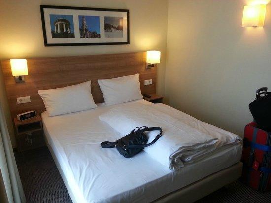 Citadines Arnulfpark Munich: Room 509 Bedroom