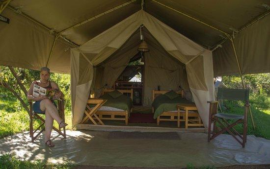 Mara Siria Camp: Luxury twin