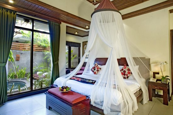 The Bali Dream Suite Villa : One Bedroom Suite Villa - Bedroom
