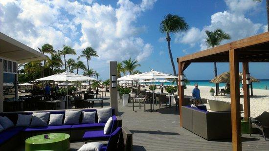 Bucuti & Tara Beach Resort Aruba: Beach Dining