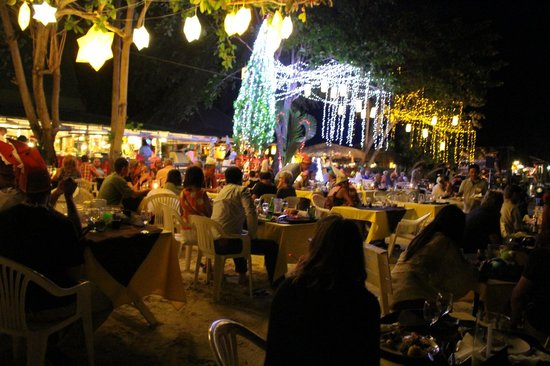 Vongdeuan Resort: Christmas Dinner Event