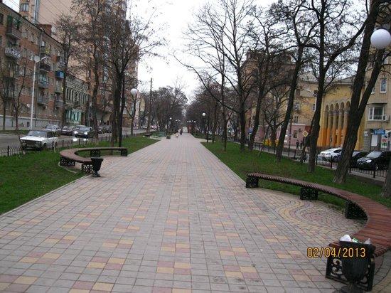 Pushkin Street (Pushkinskaya ulitsa): ул.Пушкинская Ростова-на-Дону