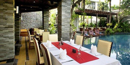 The Bali Dream Villa Resort Canggu Restaurant Picture Of The