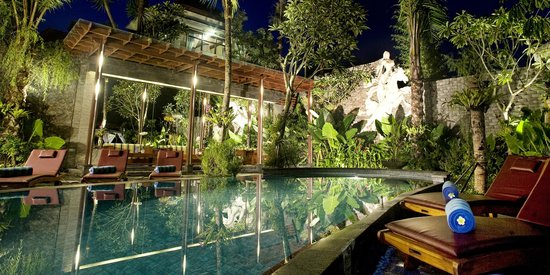 The Bali Dream Villa Resort Canggu Main Pool Canopy Picture Of