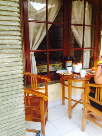 Amel Homestay: From outside my room