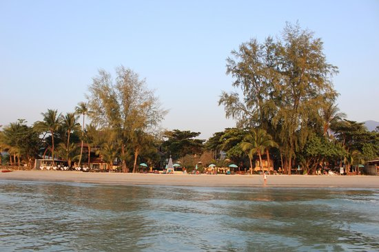 Barali Beach Resort: View from the Water