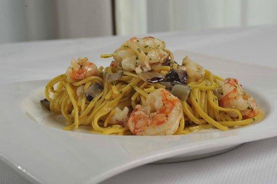 Casier, Italien: Alcune foto dei nostri piatti