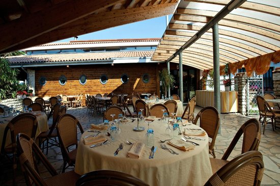 Sainte Marie de Re, Γαλλία: Terrasse du restaurant