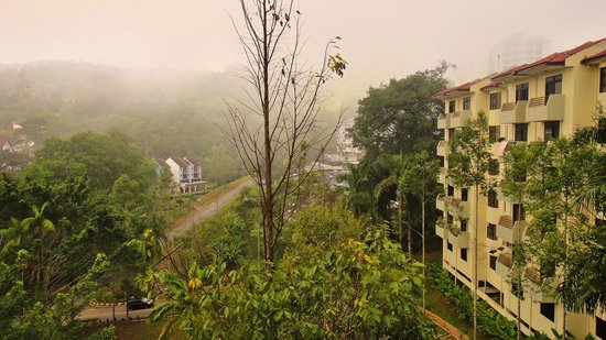 Genting View Resort: View from my balcony..