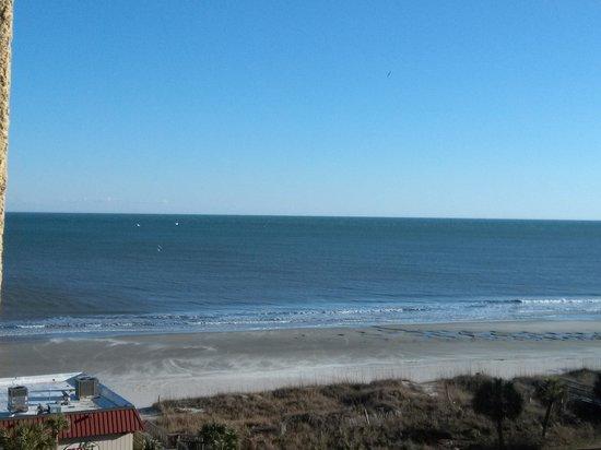 Springmaid Oceanfront Resort Myrtle Beach: View from Springmaid room