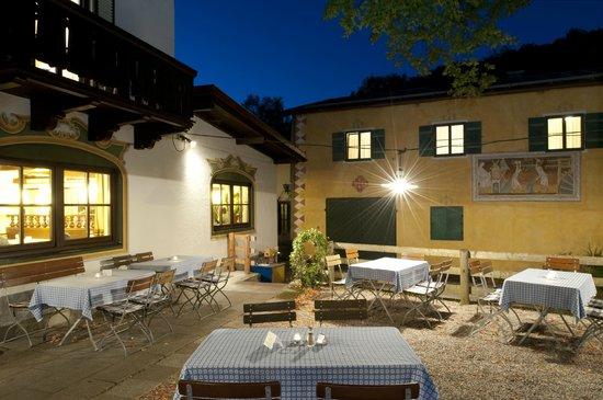 Hotel Gasthof Hörterer der Hammerwirt: Biergarten Hotel Gasthof Hörterer Hammerwirt