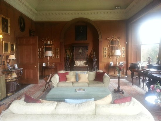Castle Leslie Estate: one of the sitting rooms