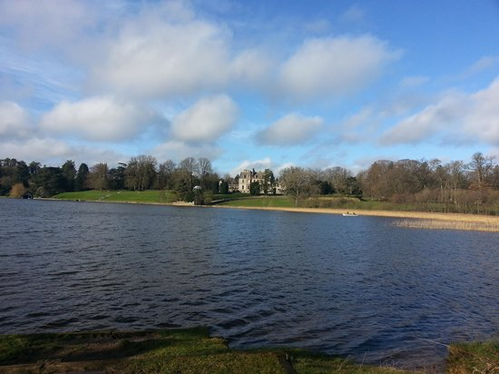 Castle Leslie Estate: a walk around the lake