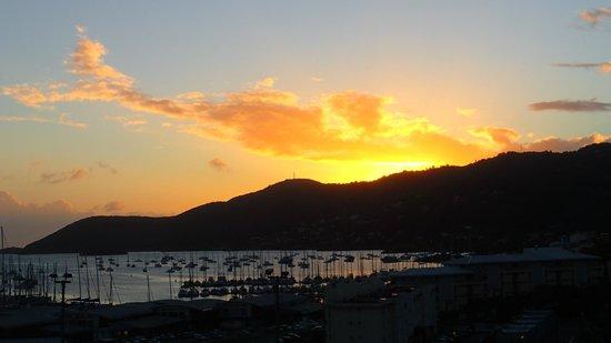 Residence des Iles Martinique: vue de la terrasse