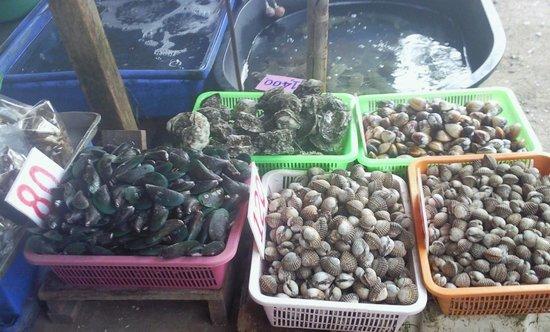 Rawai Beach: Морепродукты на выбор