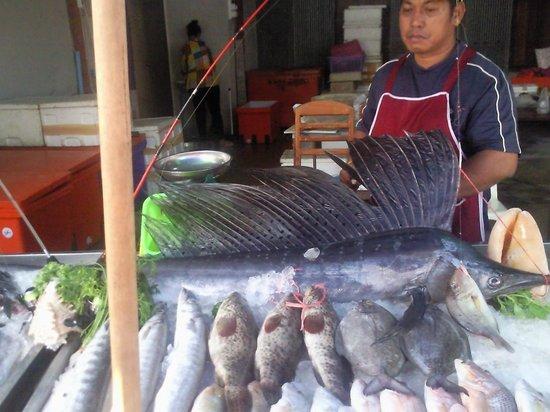 Rawai Beach: Разновидности рыбы..