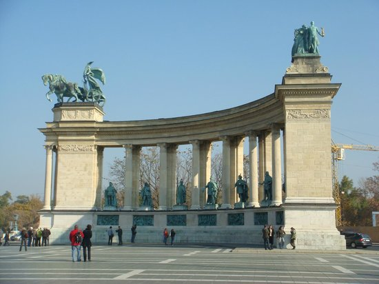 Place des Héros : Будапешт