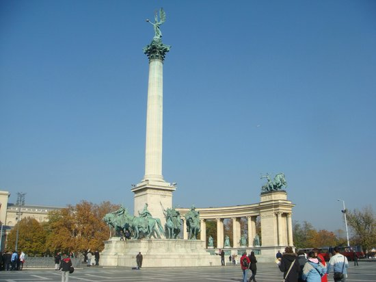 Heldenplatz: Будапешт