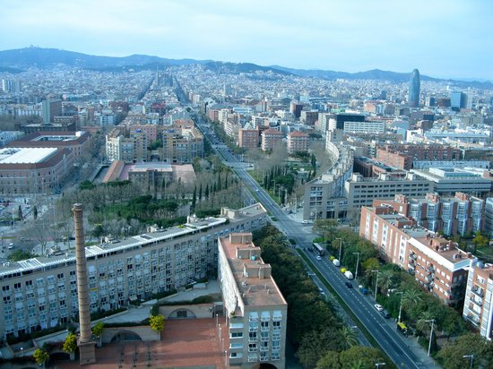 Hotel Arts Barcelona: view from from 2607