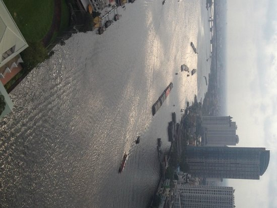 Chatrium Hotel Riverside Bangkok: View from our room