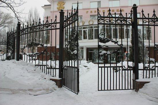 European Hotel : Гостиница зимой