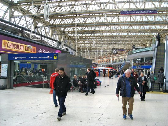 Waterloo mainline station: A lot to see and do!