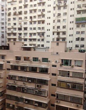 City Garden Hotel Hong Kong : The view...interesting