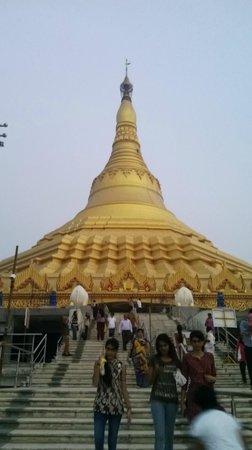 Global Vipassana Pagoda: Main Pagoda