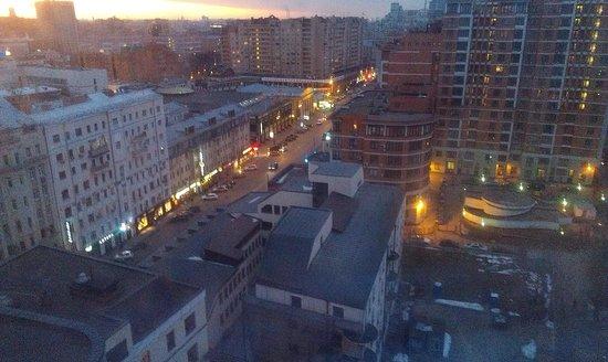 Novotel Moscow Centre: Вид с 14-го этажа