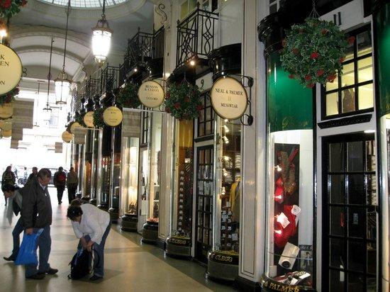 "Burlington Arcade: The Arcade has wonderful ""Specialty Shops""!"