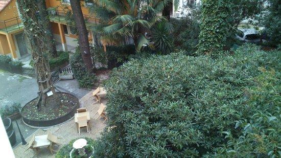 Hotel Oasis : Большой тенистый сад