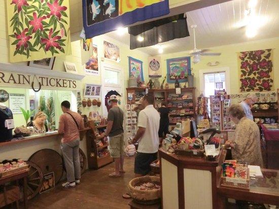 Kilohana Plantation Estate: gift shop