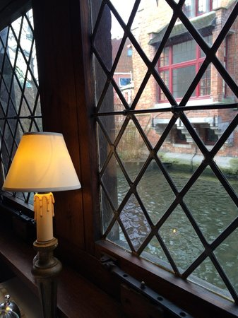 Guesthouse Bonifacius : View from the breakfast table