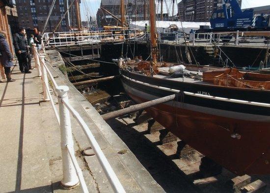 Gloucester Docks : a dry dock