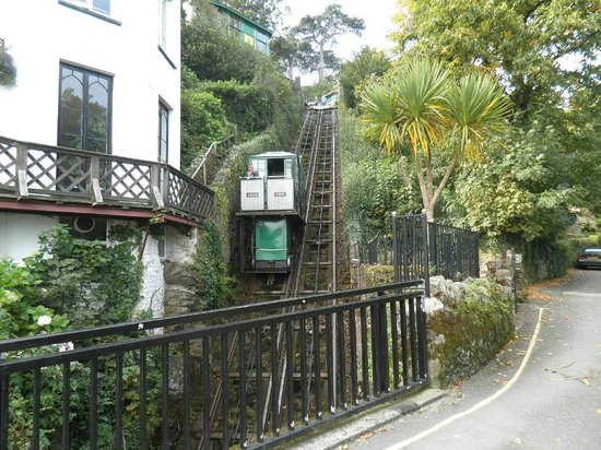 Lyn Holiday Apartments: Famous Cliff Railway to Lynmouth nearby