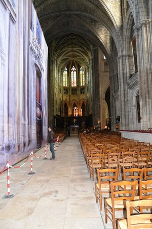 Cathédrale Saint-André : Lunghezza