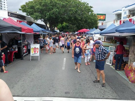 The Caloundra Street Fair: View