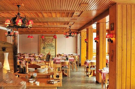 Hotel Les Chalets du Prariand: Restaurant
