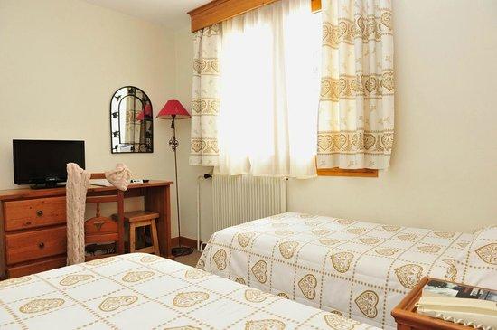 Hotel Les Chalets du Prariand: Chambre
