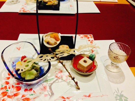 Bettei Senjuan: Dinner