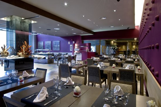 Crowne Plaza Barcelona - Fira Center: L´Aria restaurant (Breakfast area)