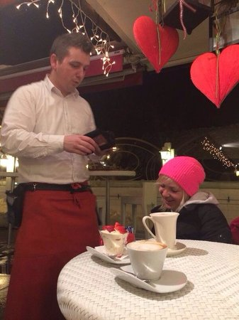 Caffè Mozart: The staff was very polite