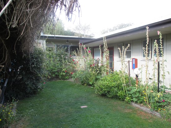 Dunstan House: Wong room on right across private courtyard, overlooked by kitchen window