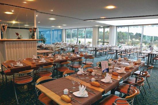 Restaurant foto di club les jardins de l 39 atlantique for Le jardin de l atlantique