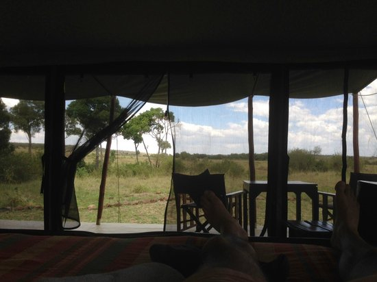 Offbeat Mara Camp: What a view!
