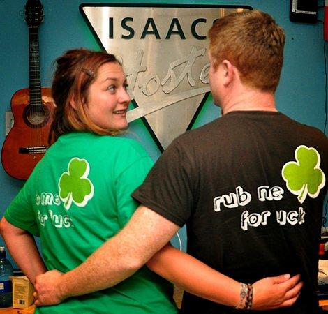 Isaacs Hostel: Run Me for Luck @Isaacs