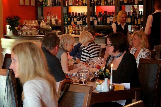 Baltvilla Hotel: Restaurant Baltvilla