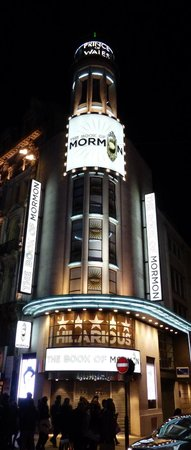 West End Theatre District: Book of Mormon at West End